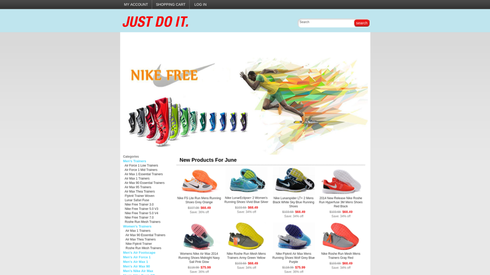 Nike fake Shopping Website