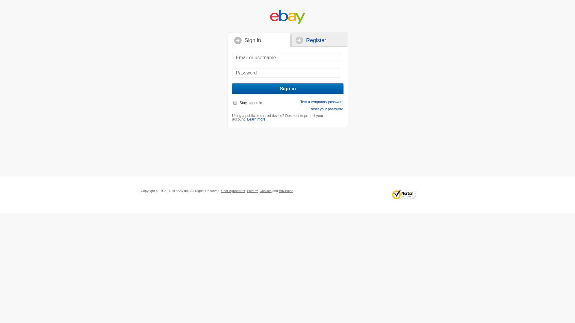 Fake eBay Store